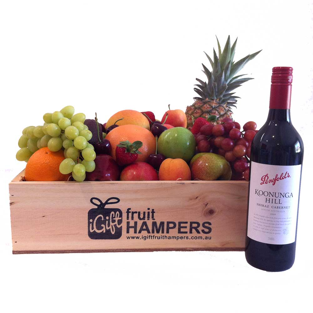 red wine fruit hampers