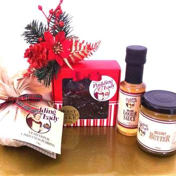 Pudding Lady Christmas Hampers - Free Shipping